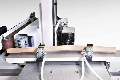 CNC obrábacie centrá pre sedací a stolový nábytok